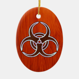 Ingrained Bio Hazard Christmas Ornaments
