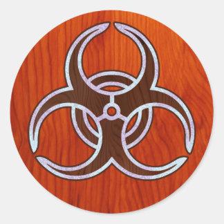 Ingrained Bio Hazard Stickers