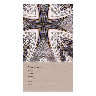Ingrained Mandala Business Card