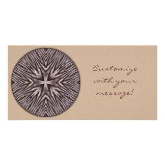Ingrained Mandala Photo Card