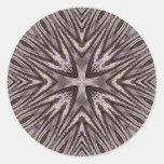 Ingrained Mandala • Sticker
