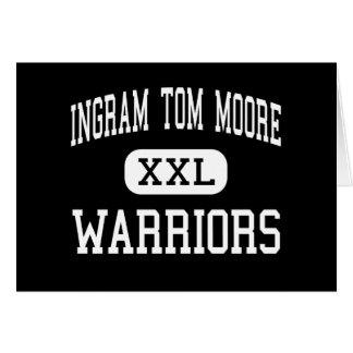 Ingram Tom Moore - Warriors - High - Ingram Texas Greeting Card