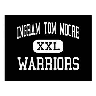 Ingram Tom Moore - Warriors - High - Ingram Texas Postcard