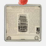 Ingrapham and Gamewell Company Christmas Tree Ornaments