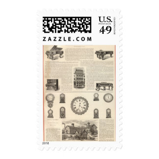 Ingrapham and Gamewell Company Postage Stamps