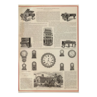 Ingrapham and Gamewell Company Print