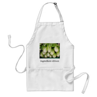 Ingredient driven cooking adult apron