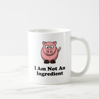 Ingredient Pig Classic White Coffee Mug