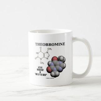 Ingrediente activo de la tebromina (Molcule químic Tazas De Café