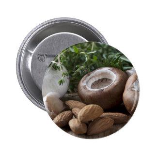 Ingredientes de la seta rellena pins