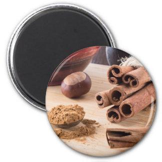 Ingredientes para cocinar en la cocina imanes