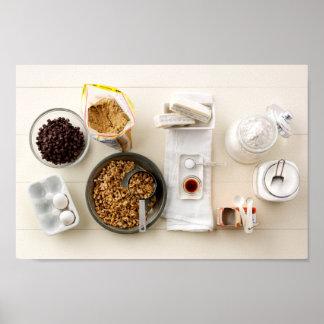 Ingredientes y herramientas 3 póster