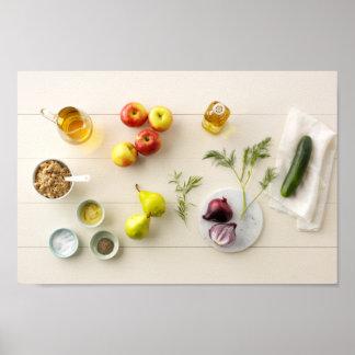 Ingredientes y herramientas 5 póster