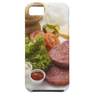 Ingredients for cheeseburgers iPhone SE/5/5s case