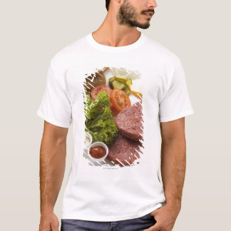 Ingredients for cheeseburgers T-Shirt