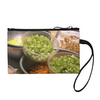 Ingredients of Veggie and Egg Food Change Purse