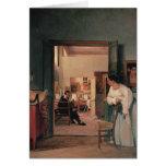 Ingres' Studio in Rome Card