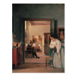 Ingres' Studio in Rome Postcard