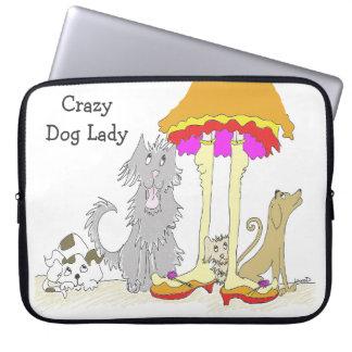 Ingresos a la señora loca del perro de la caridad mangas computadora