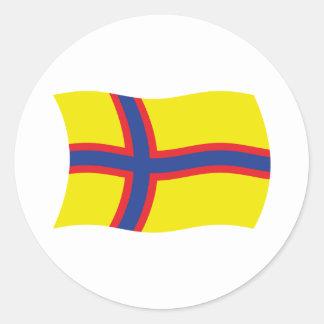 Ingrian Finns Flag Sticker
