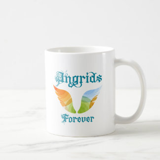 Ingrids para siempre taza de café