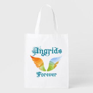 Ingrids para siempre bolsa reutilizable