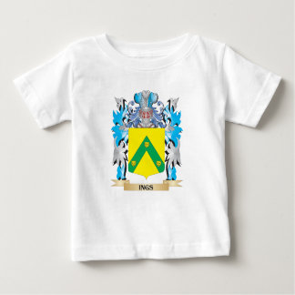 Ings Coat of Arms - Family Crest T-shirts