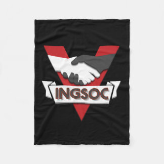 INGSOC 1984 FLEECE BLANKET