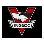 INGSOC 1984 Victory Logo Poster Perfect Poster
