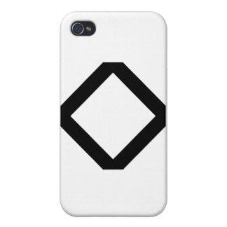 INGUZ RUNE COVER FOR iPhone 4