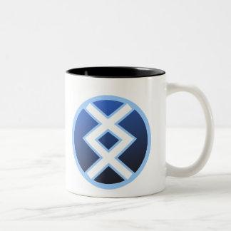 Ingwaz Ing Inguz Two-Tone Coffee Mug