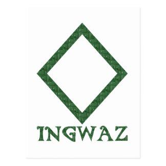 Ingwaz Postcard