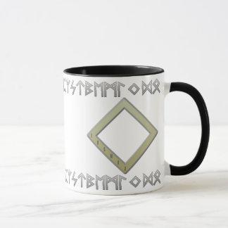 Ingwaz Rune gold Mug