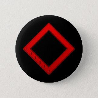 Ingwaz Rune red Button