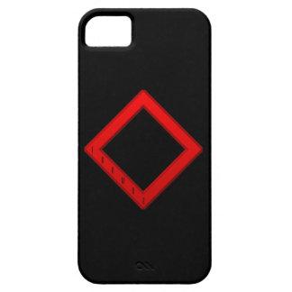 Ingwaz Rune red iPhone SE/5/5s Case