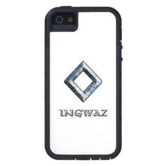Ingwaz rune symbol iPhone 5 case