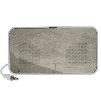 Inhabitants and Monuments of Easter Island Laptop Speaker