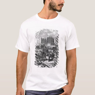 Inhabitants moving from the Butte des Moulins T-Shirt