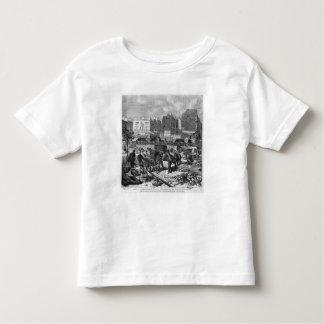 Inhabitants moving from the Butte des Moulins Toddler T-shirt