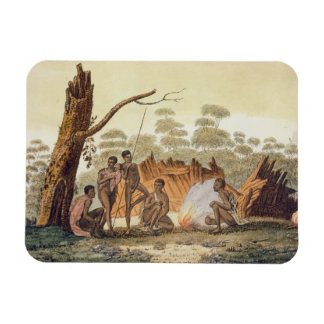 Inhabitants of Loro, New Holland, plate 60 from 'L Magnet