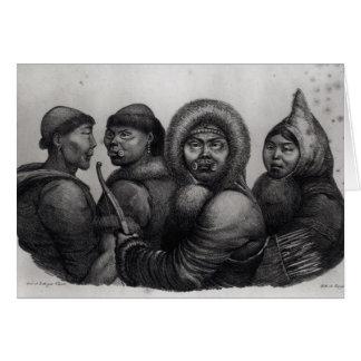 Inhabitants of the Gulf of Kotzebue Card