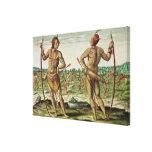 Inhabitants of Virginia Canvas Print