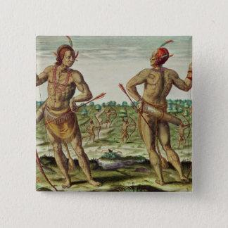 Inhabitants of Virginia Pinback Button