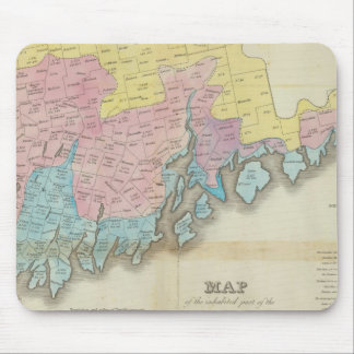 Inhabited Parts of Maine Mouse Pad