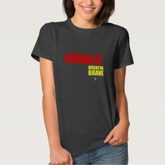Inhale Breathe Brave - Survivor Jewelry Shirt