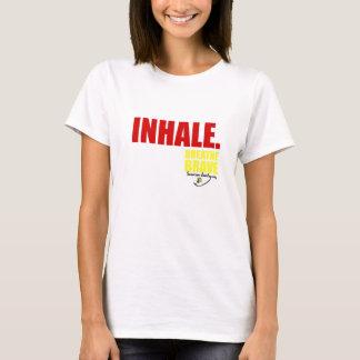 Inhale Breathe Brave - Survivor Jewelry T-Shirt