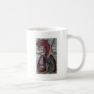 Inhale exhala tazas de café