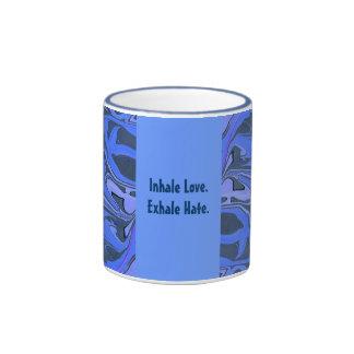 inhale exhalan taza de café
