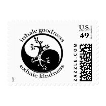 Inhale  Goodness Stamps