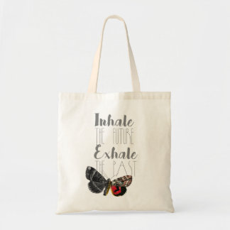 Inhale the Future, Exhale the Past | Moth | Tote